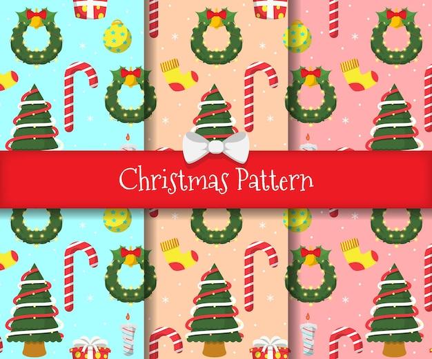 Imposta un motivo natalizio con uno sfondo innevato