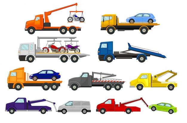 Set di caricatori per auto.