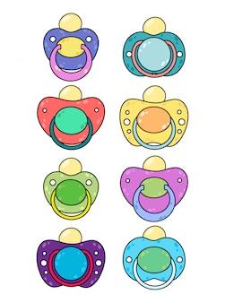 Set di ciucci per bambini