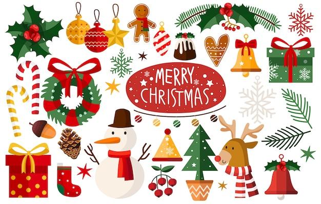 Set di accessori natalizi