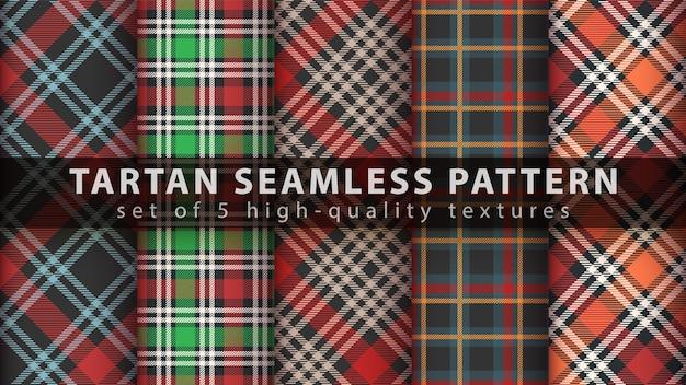 Impostare il classico motivo scozzese senza cuciture