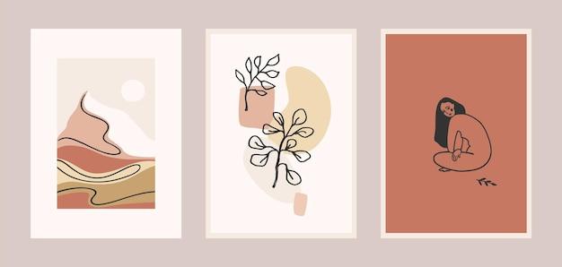 Set di stampe d'arte contemporanea