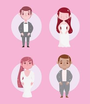 Impostare il matrimonio delle coppie