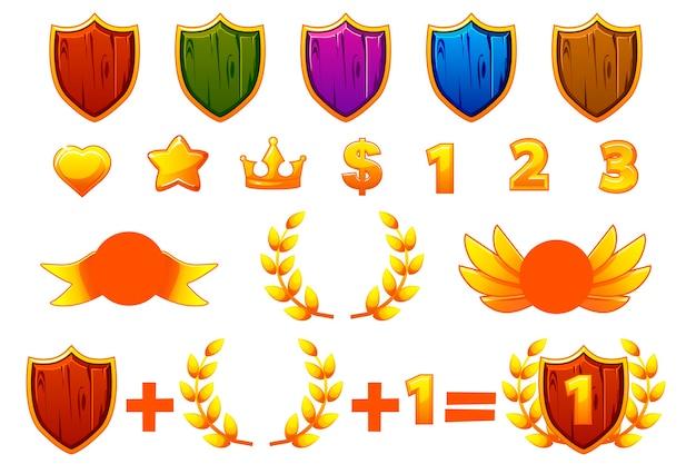 Impostato per creare kit diversi premi o icone