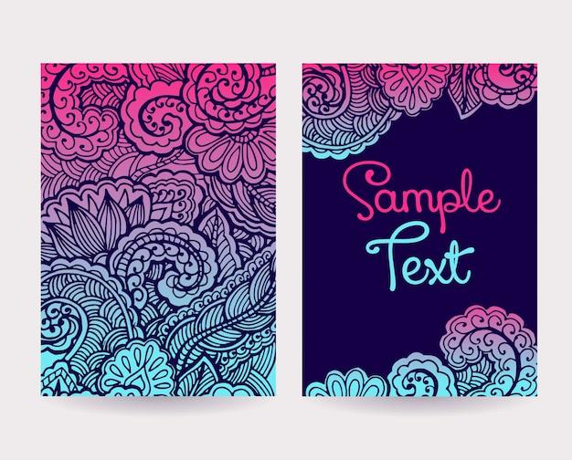 Set di cartoline decorative