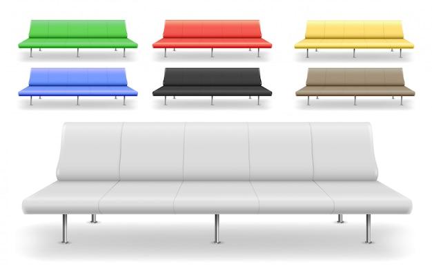 Set di diversi divani