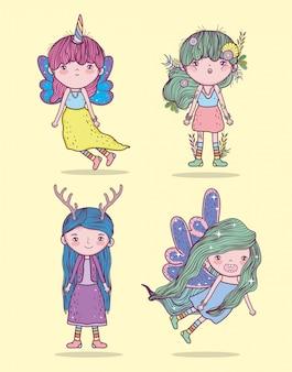 Crea fantastiche creature per ragazze con hairtyle
