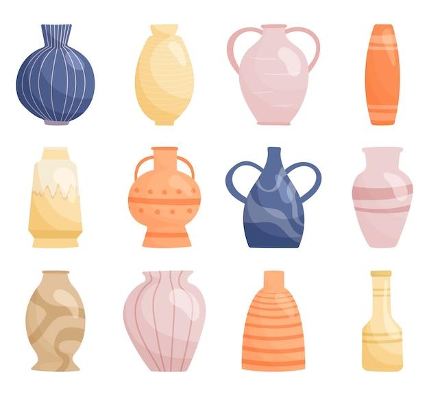 Set di vasi alla moda collection.