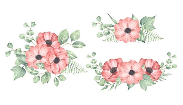 Set degli allestimenti floreali.