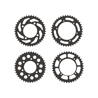 Set di ruote dentate pignone