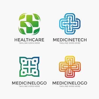Set di icone di assistenza sanitaria e farmacia