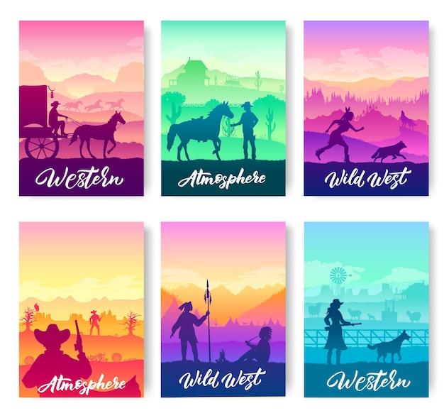 Set di opuscoli storici occidentali