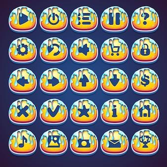 Set bottoni mielati