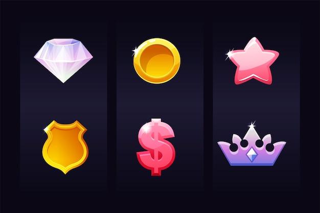 Imposta le icone per il gioco