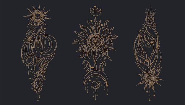 Set di composizioni indiane
