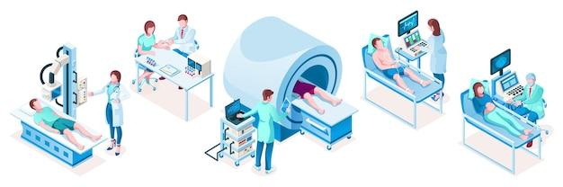Set di attrezzature per la tecnologia medica isometrica