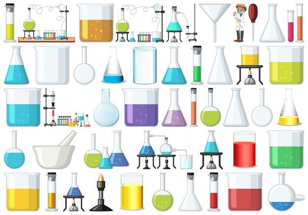 Set di strumenti di laboratorio