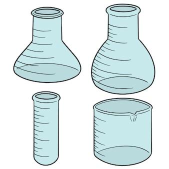 Set di vetreria per laboratorio