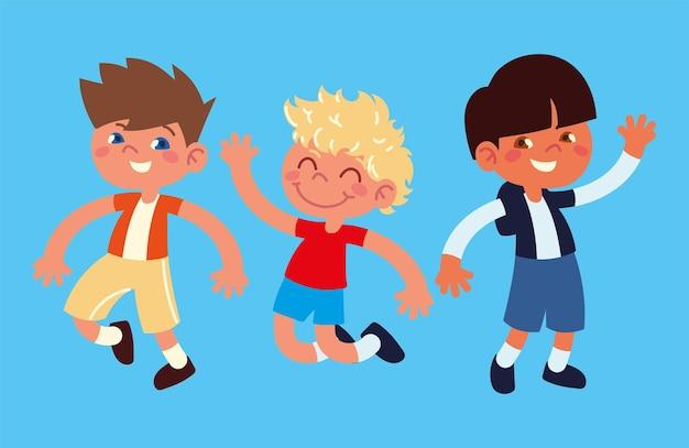Set di ragazzini