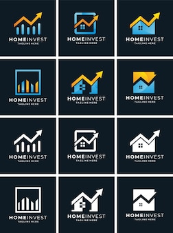 Set logo home invest