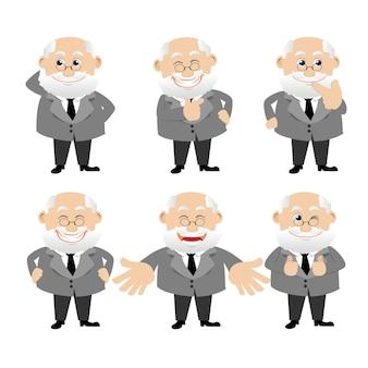 Set di caratteri uomo