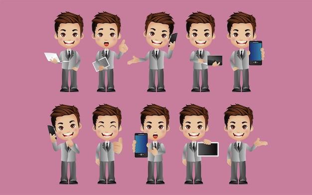 Set di personaggi maschili