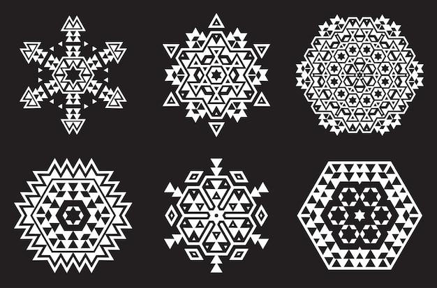 Set di mandala