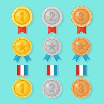 Set di medaglie