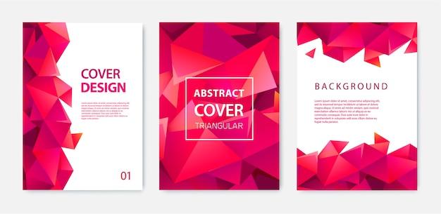 Set di modelli di copertina moderna.