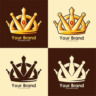 Impostare la moderna lettera dk corona logo modello