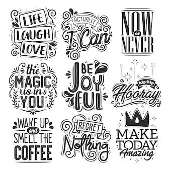 Set di citazioni motivazionali