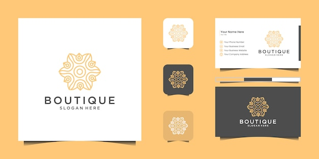 Set di nautica nautica e marine anchor logo design creativo