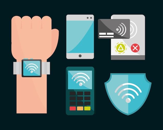 Imposta la tecnologia di pagamento nfc