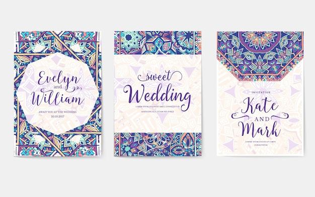 Insieme di vecchio ornamento di pagine volantino fairy tail. arte vintage tradizionale, islam, rivista, elementi.