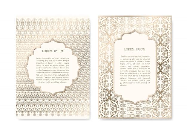Set di carte ornamentali
