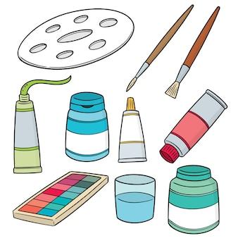 Set di accessori per la pittura