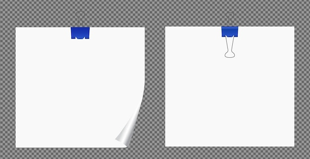 Set di fogli di carta a4, a5 con ombre, pagina di carta realistica