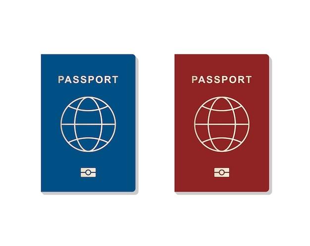 Set di passaporto