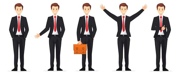 Set di caratteri di persone per affari