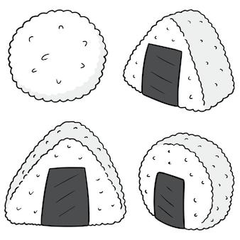 Set di palla di riso