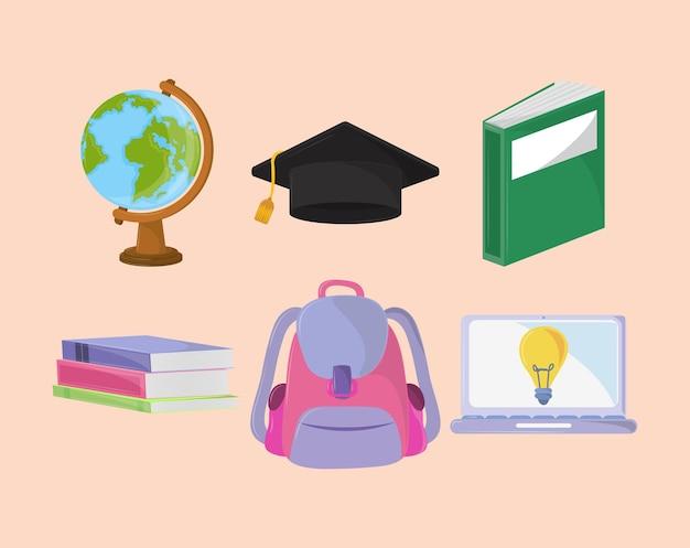 Imposta materiale scolastico