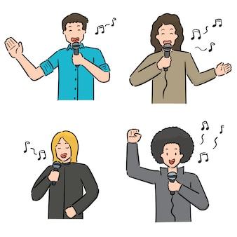 Set di cantante