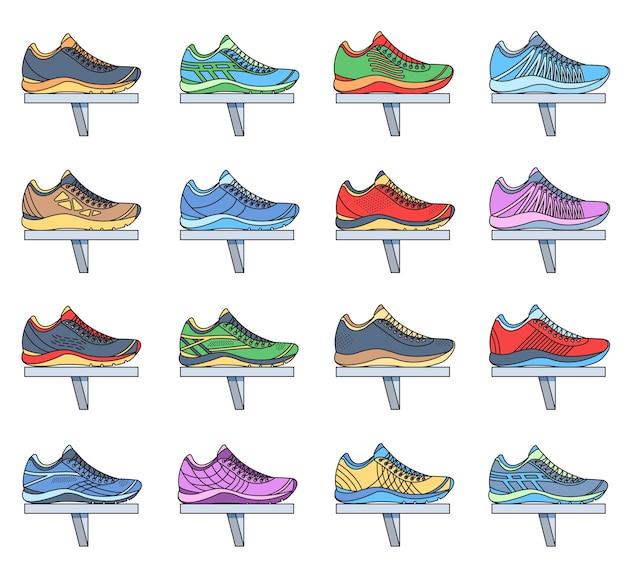 Set di scarpe da ginnastica