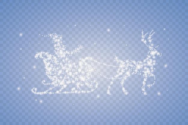 Set di ghiaccioli di neve isolato su sfondo trasparente.