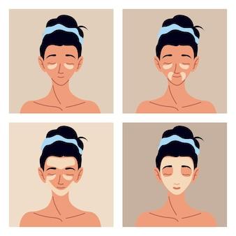 Imposta la routine di cura della pelle