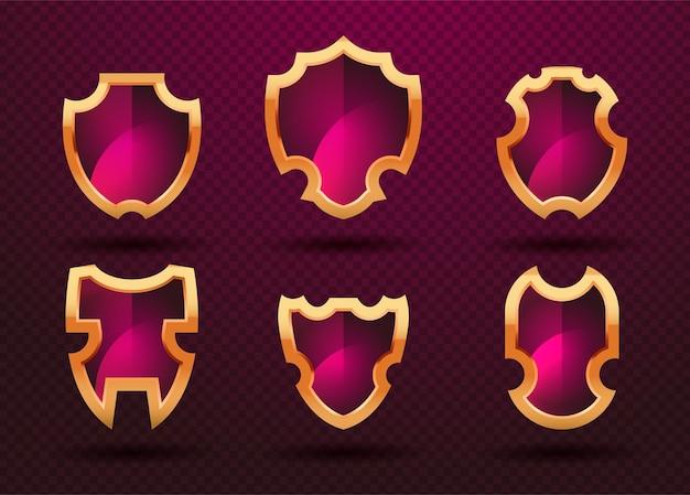 Set di simboli di protezione