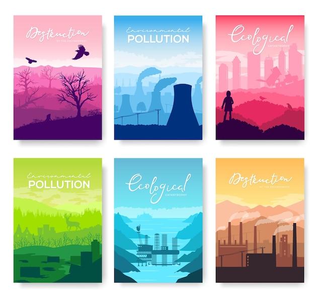 Set di modello di flyer, riviste, poster, libri, banner. concetto di invito stile di vita.