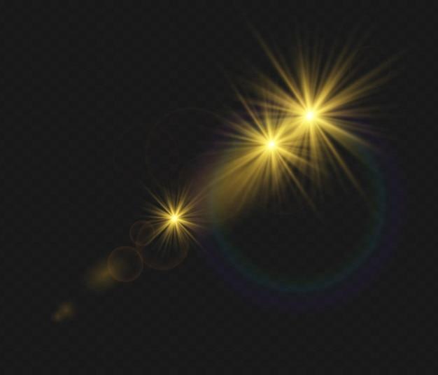 Set di lenti speciali per luce solare effetto luce flash trasparente