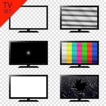 Set di schermi televisivi