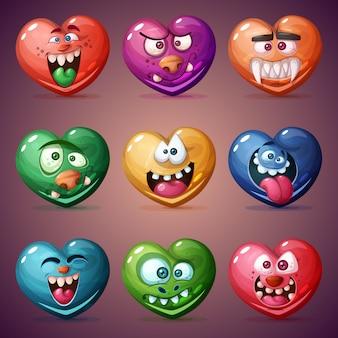 Impostare il cuore di san valentino